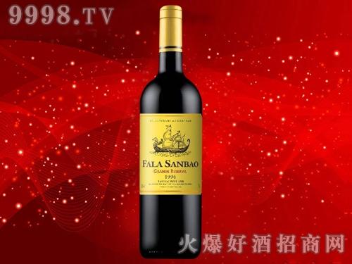 法拉圣堡・大龙船干红葡萄酒