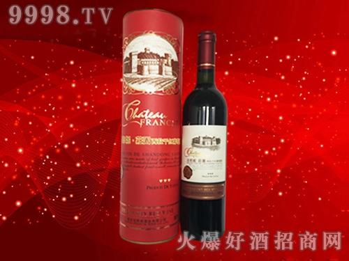 法郎妮・庄园西拉红圆桶干红葡萄酒
