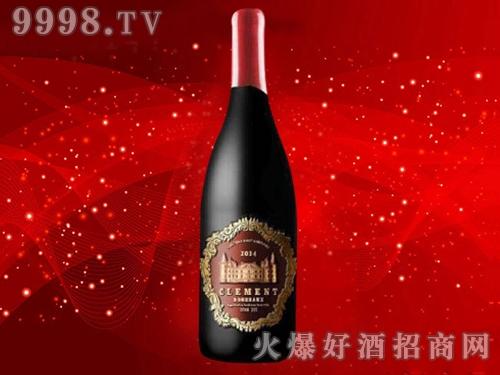 克莱曼金骑士・尚莎玛兰城堡干红葡萄酒