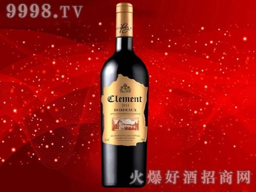 克莱曼铂金・尚莎玛兰城堡干红葡萄酒