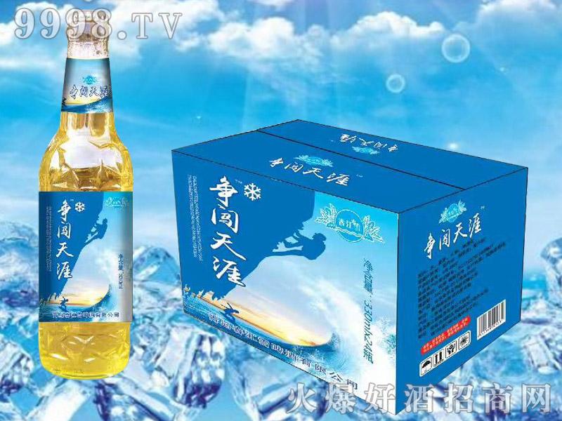 春江雪啤酒330ml夜场