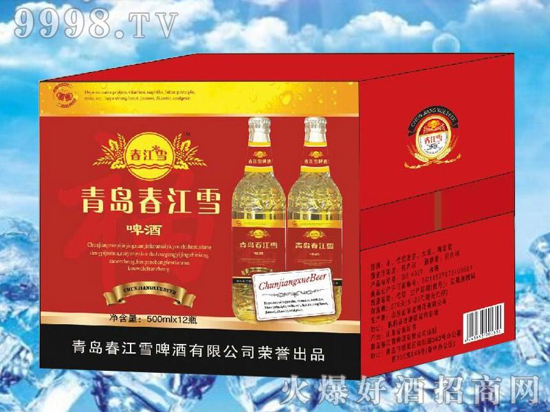 春江雪啤酒500ml