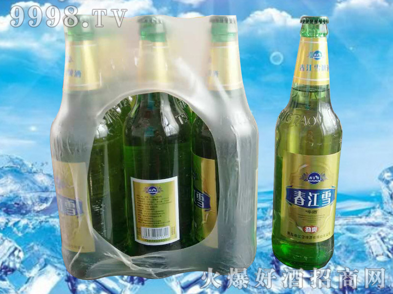 春江雪500ml塑包啤酒