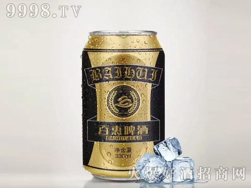 百惠啤酒・黑啤330ml