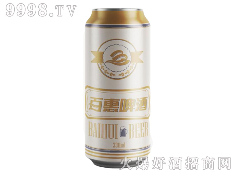 百惠啤酒・白啤