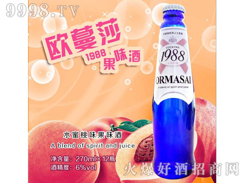欧蔓莎1988果味酒・水蜜桃味