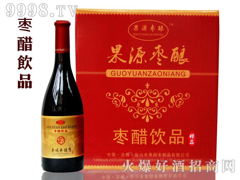 枣果源-750毫升新红枣醋饮品(箱)