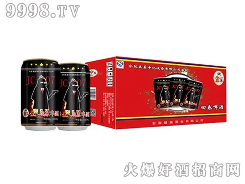 健巢回春啤酒007系列罐装330ml外包装