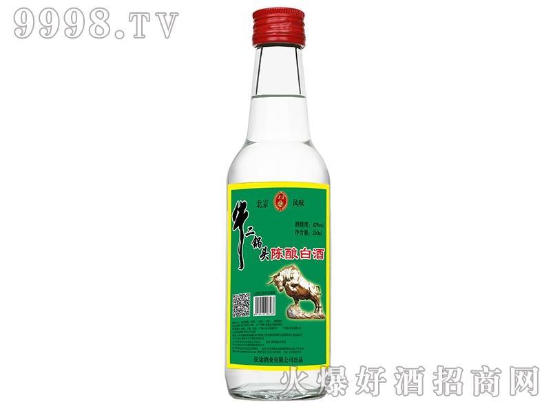 通途牛二锅头陈酿白酒42°250ml