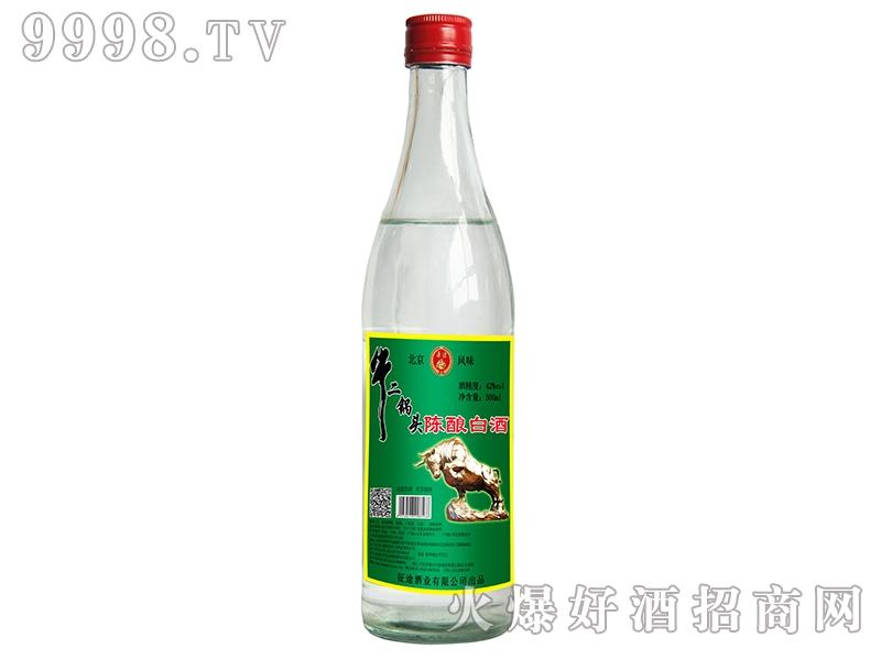通途牛二锅头陈酿白酒42°500ml