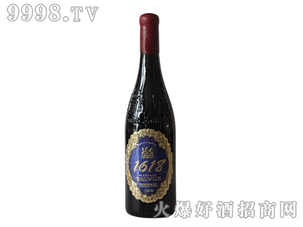蓓妃酒庄1618金牌干红葡萄酒