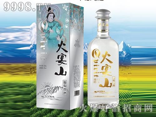 丝路火宴山葡萄烈酒蓝色