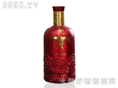 汇福林浓香型白酒・喜庆红瓶