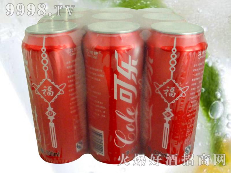 贝丽斯可乐碳酸汽水9罐500ml