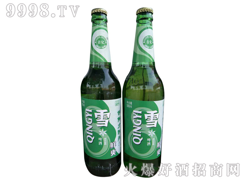 青亿雪啤酒・鲜爽
