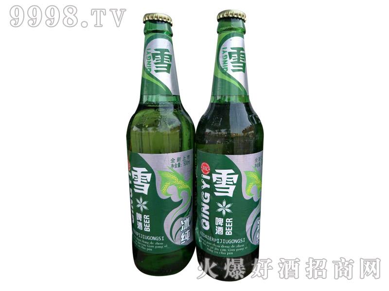 青亿雪啤酒・冰纯