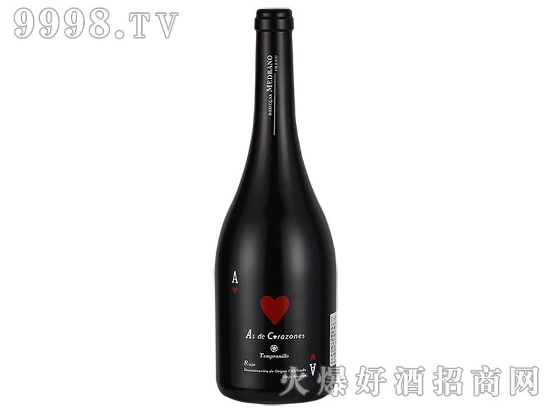 红心AS干红葡萄酒750ml