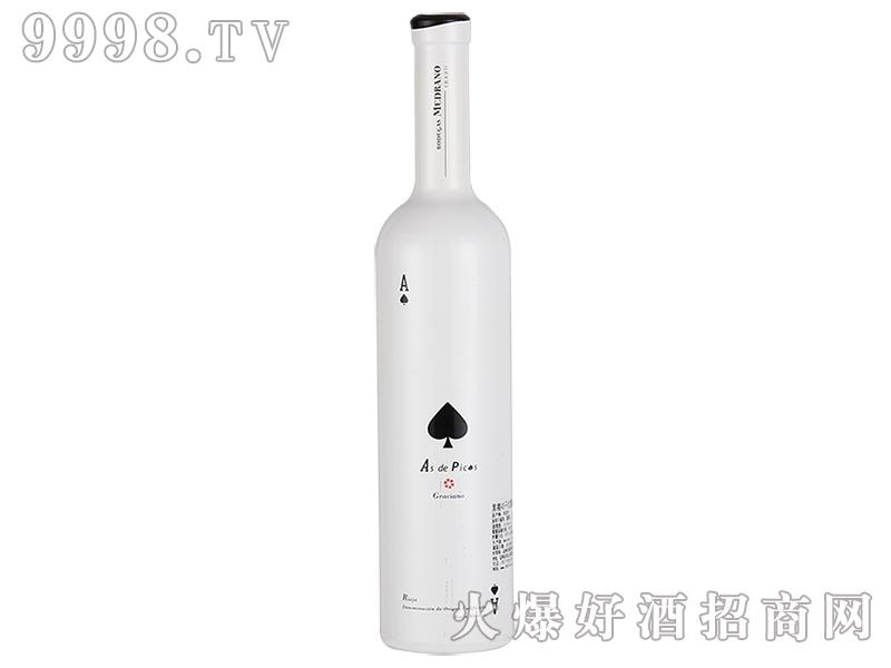 黑桃AS干红葡萄酒750ml