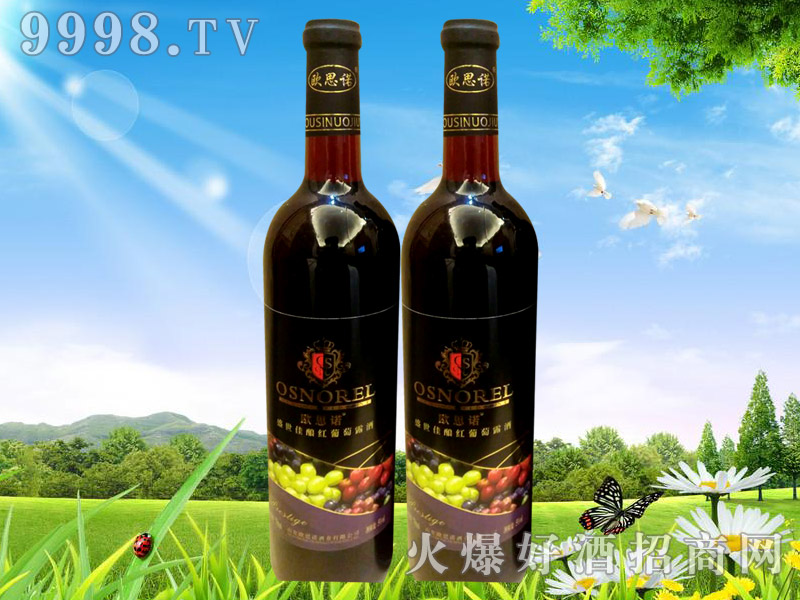 欧思诺盛世佳酿红葡萄露酒