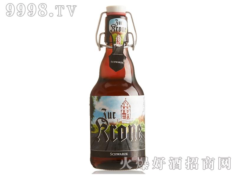西德王冠浓色啤酒330ml
