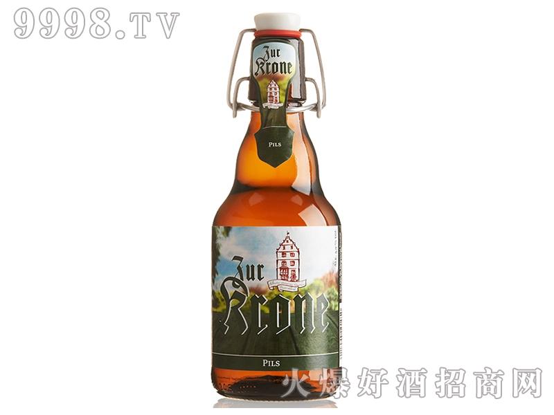 西德王冠皮尔森啤酒330ml