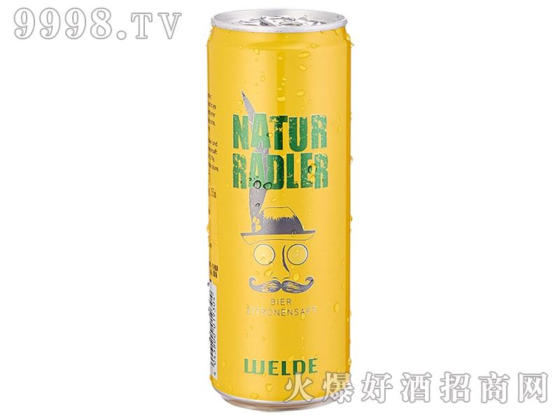 唯德柠檬皮尔森啤酒355ml