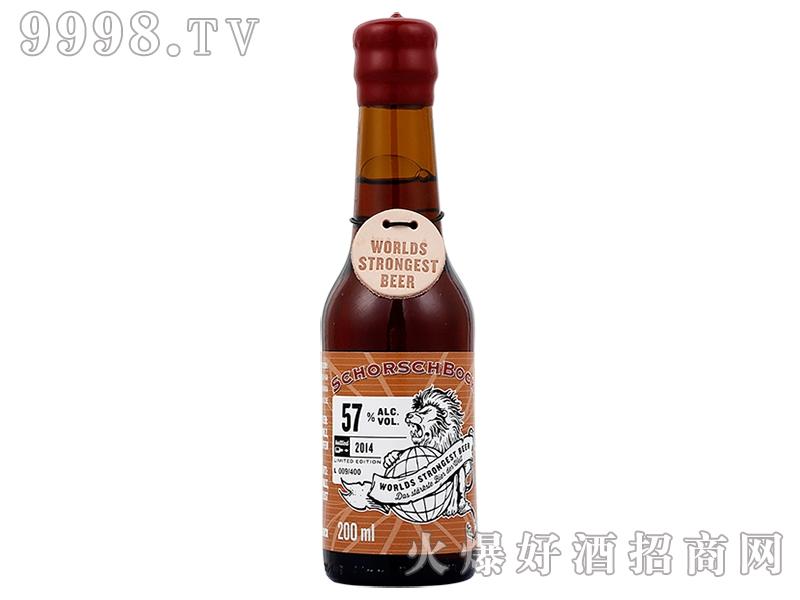 少士博啤酒57度200ml
