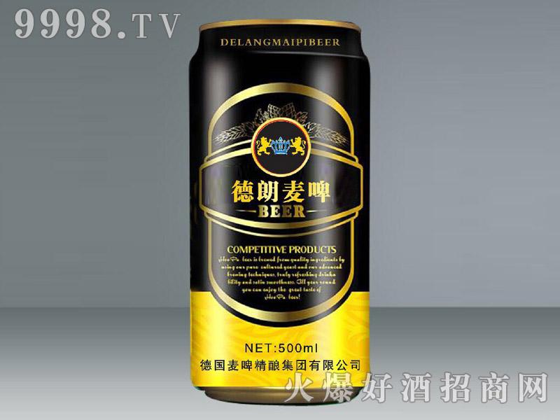 德朗麦啤500ml(黑罐)