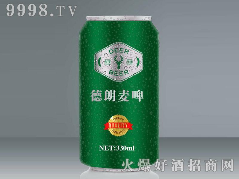 德朗麦啤330ml(绿罐)
