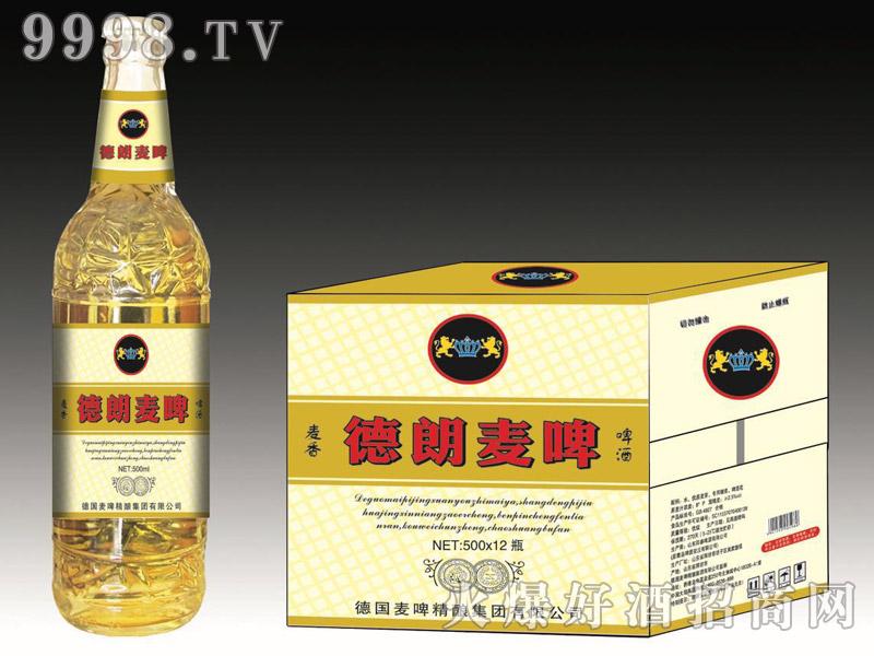 德朗麦啤・麦香啤酒500mlx12瓶(白)