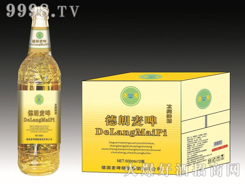 德朗麦啤・冰纯啤酒500mlx12瓶