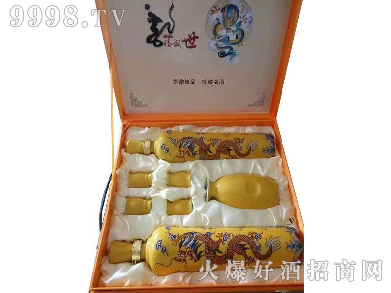 龙腾盛世酒(礼盒)(定制酒)