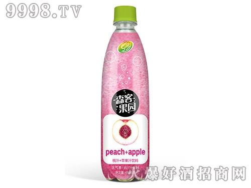 森客桃汁+苹果汁饮料