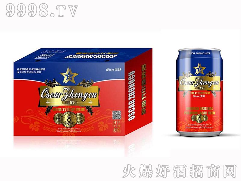 澳斯卡320ml 易拉罐8°啤酒