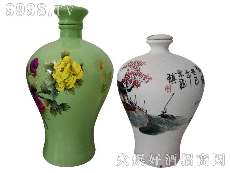 百年盛池原浆酒花开富贵(定制酒)