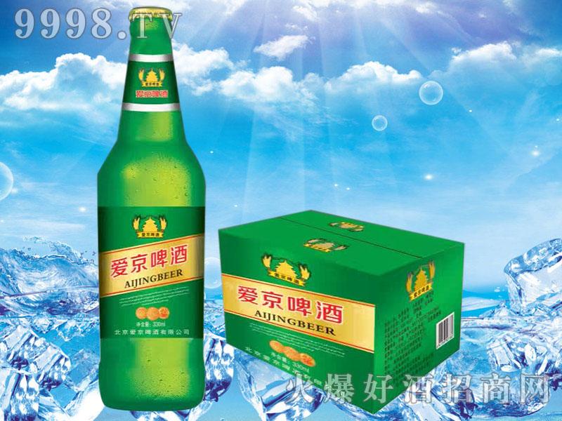 爱京啤酒330ml绿瓶