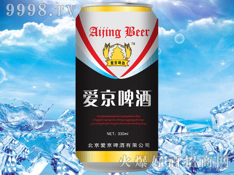 爱京啤酒330ml黑罐装