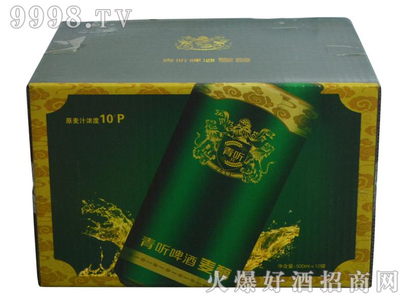 青听啤酒麦醇500ml(箱)