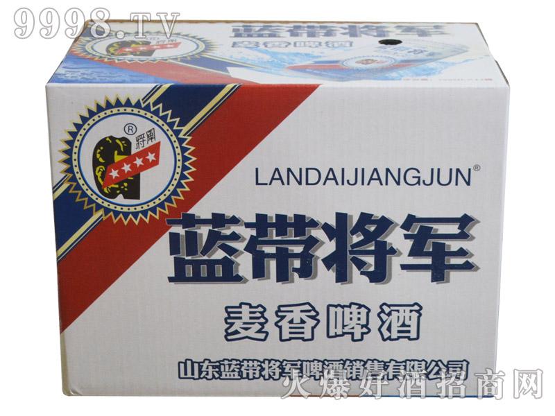 蓝带将军麦香啤酒500ml(箱)