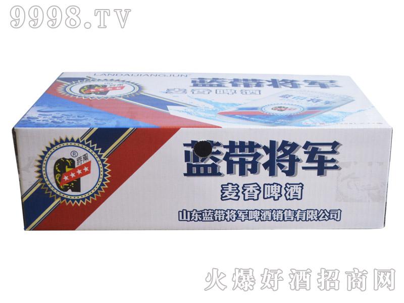 蓝带将军麦香啤酒330ml(箱)