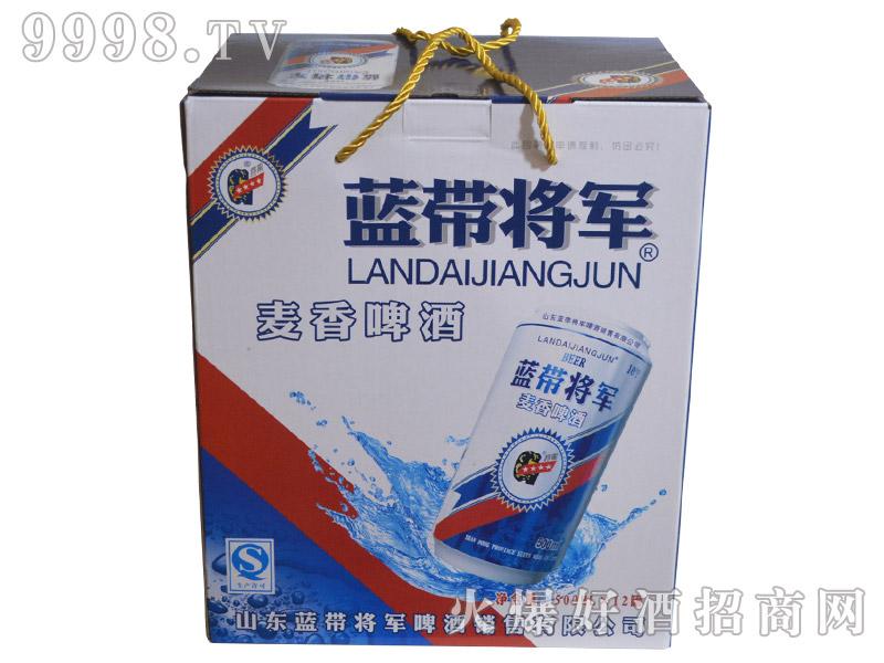 蓝带将军麦香啤酒500ml×12罐(箱)