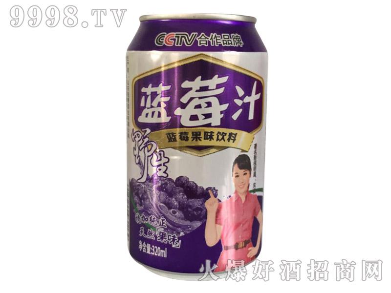 雪仔蓝莓汁320ml