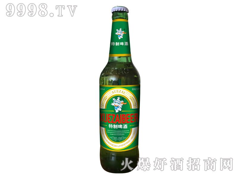 雪仔特制啤酒8度480ml(瓶)