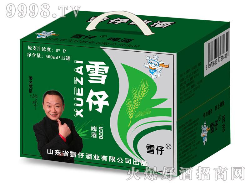 雪仔啤酒500mlx12罐