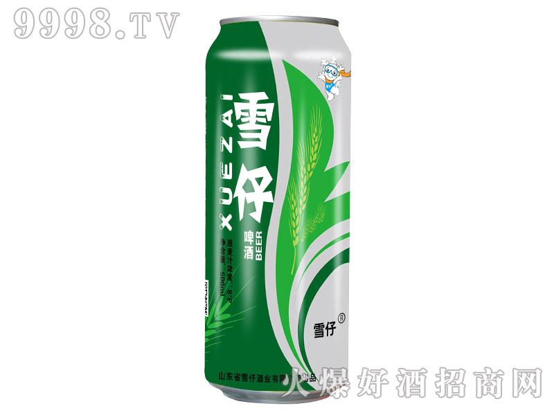 雪仔啤酒500ml(易拉罐)