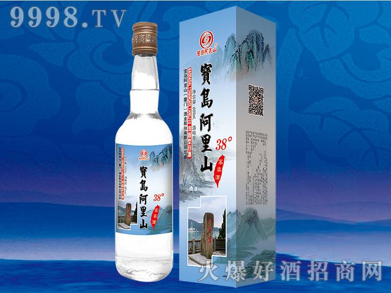 宝岛阿里山高粱酒38度600ml银卡盒