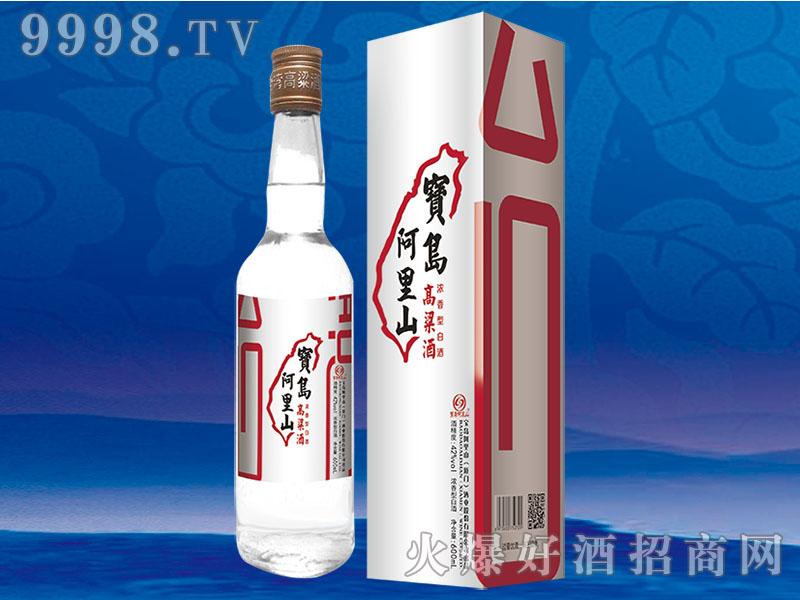 宝岛阿里山高粱酒42度600ml银盒