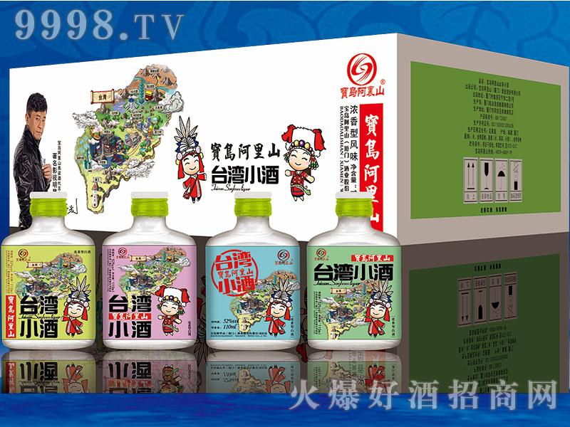 宝岛阿里山52°(台湾小酒)110ml浓香型