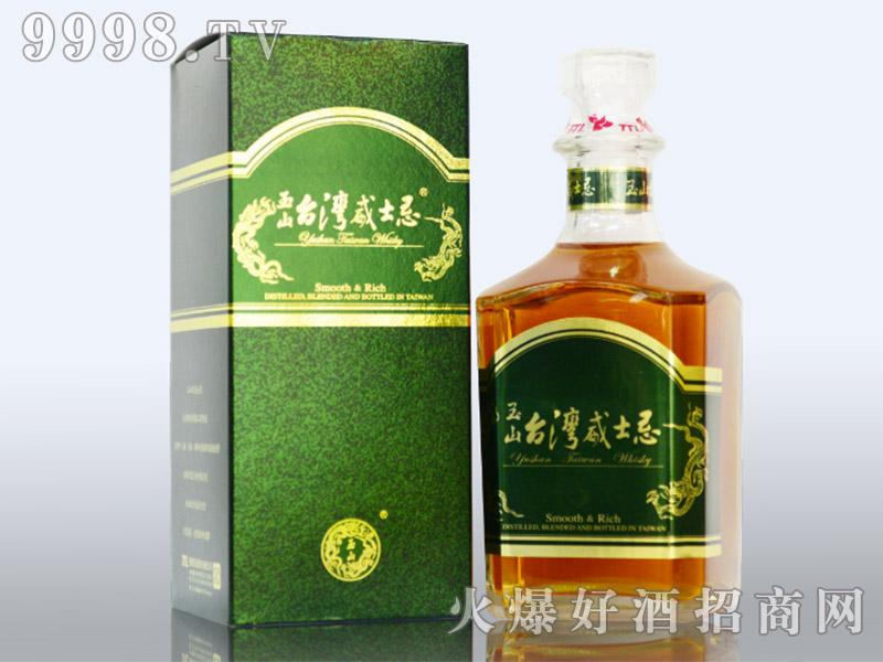 玉山台湾威士忌40度700ml