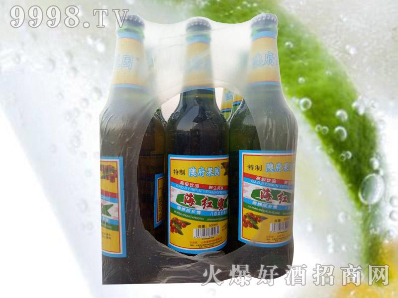 野生海红密饮品塑包